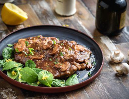 Veal Marsala With Mushrooms Recipe