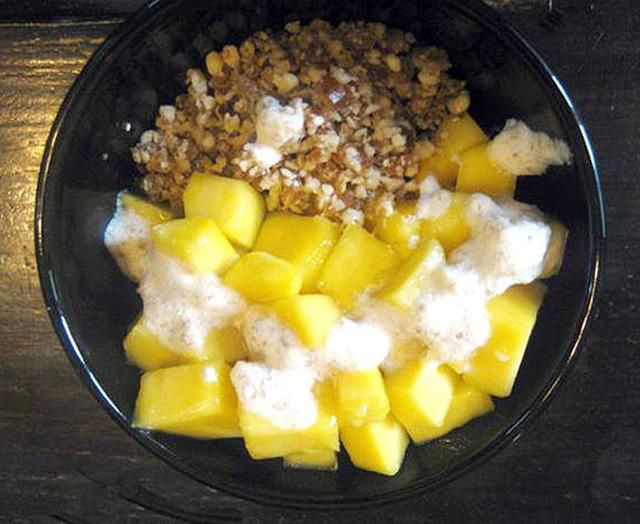 Receta de Muesli de Desayuno de Alimentos Crudos