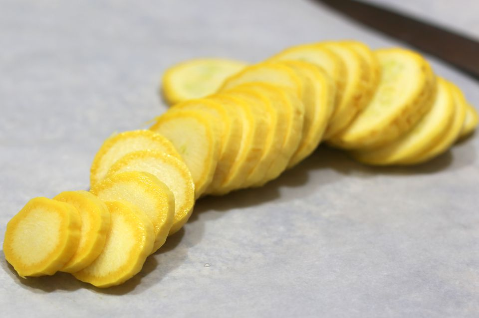 Sliced Summer Squash