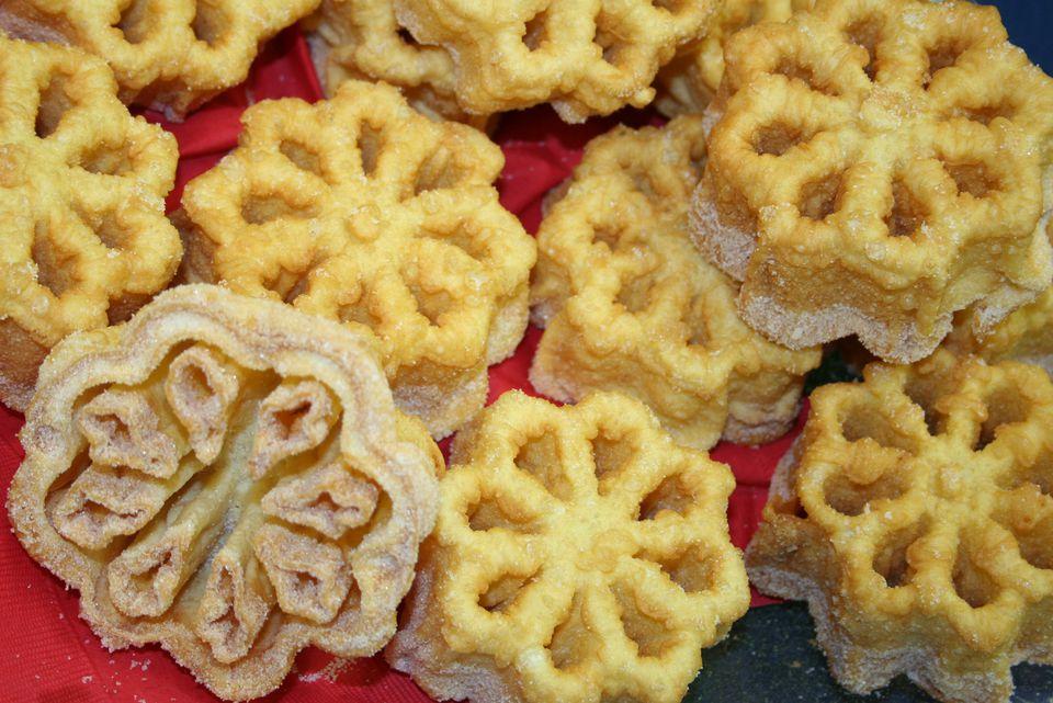 Rosette cookies