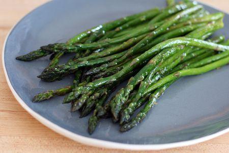 10 Minute Roasted Asparagus Recipe