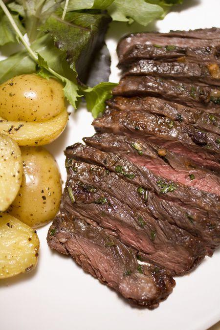grilled irish flank steak recipe