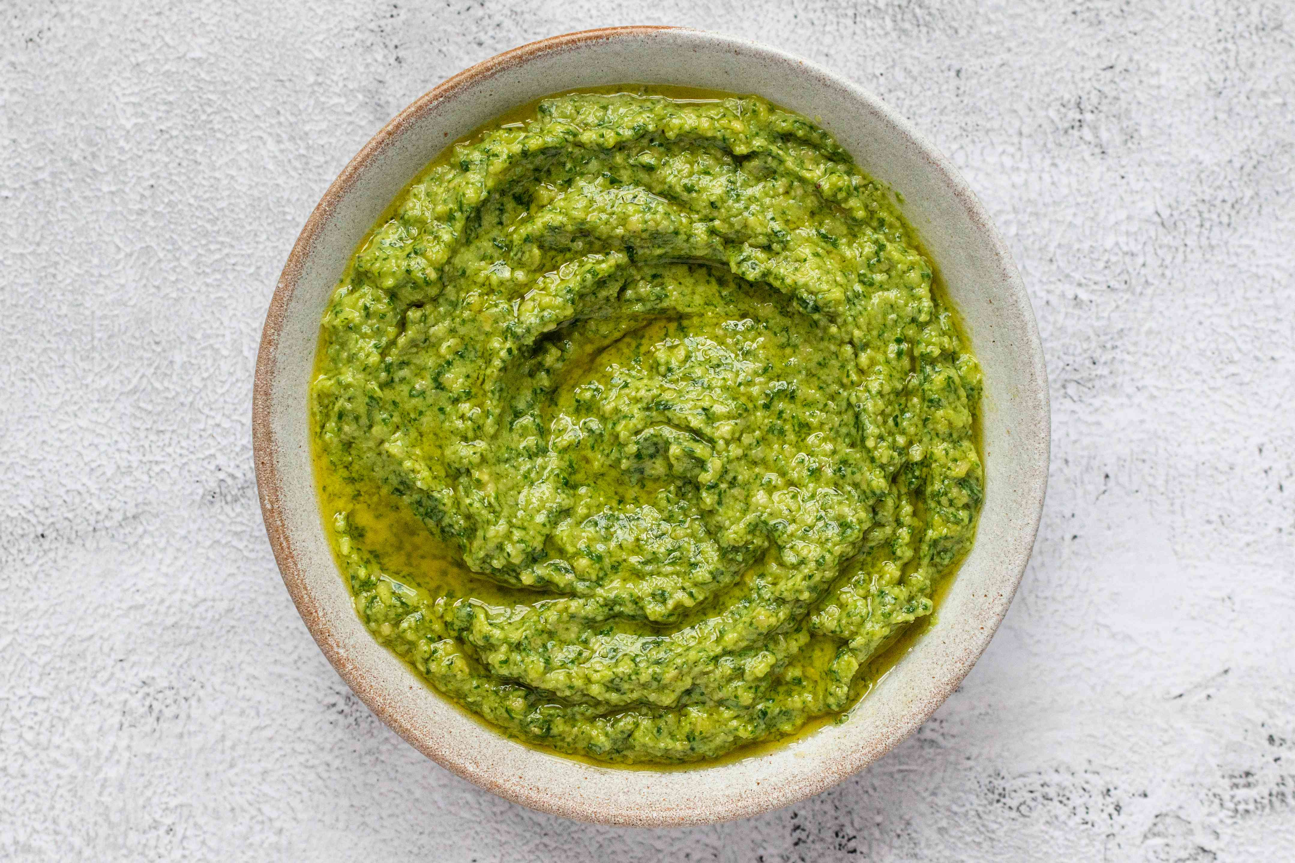 Vegan Spinach Cashew Pesto