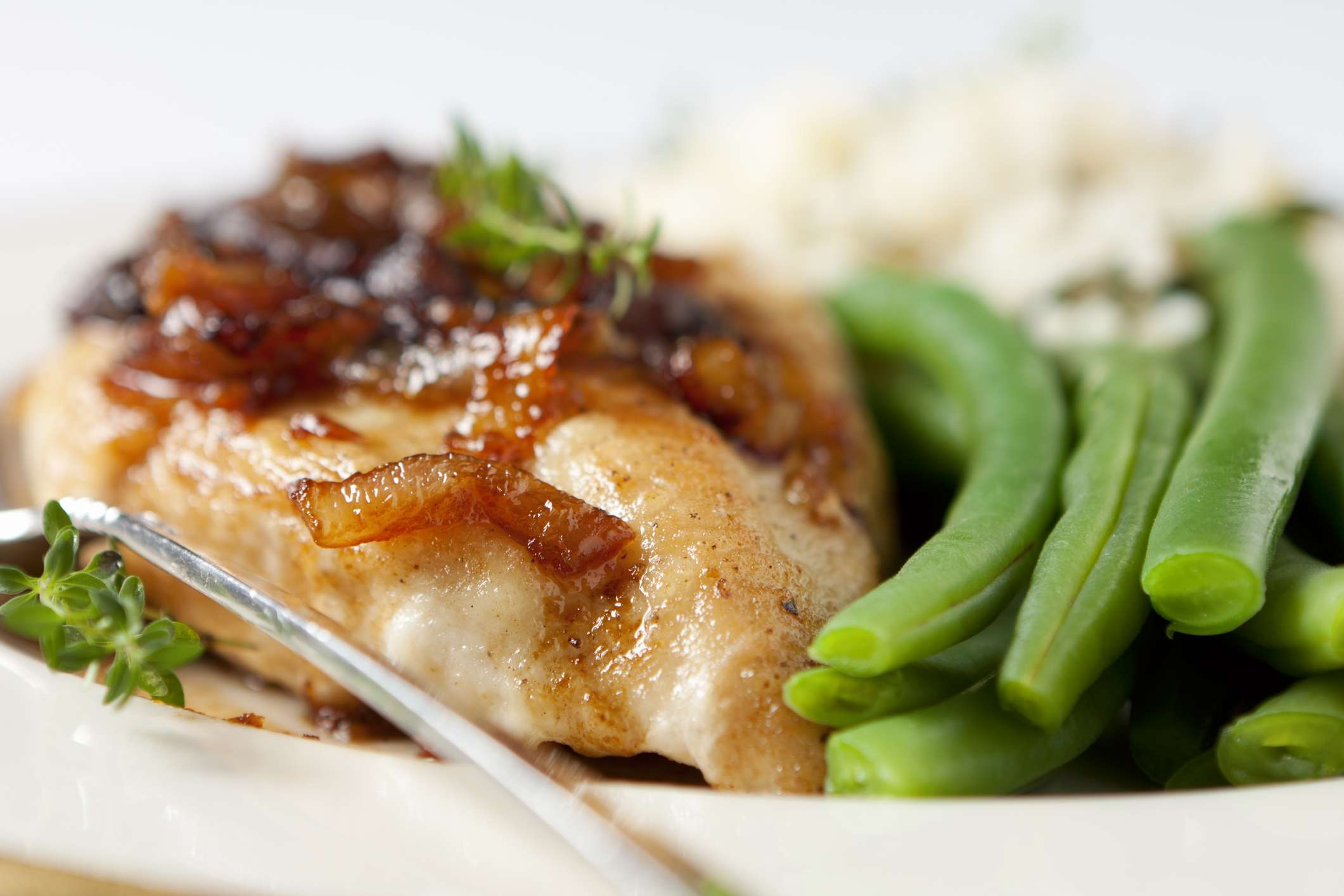 Caramelized Onion Chicken Dinner