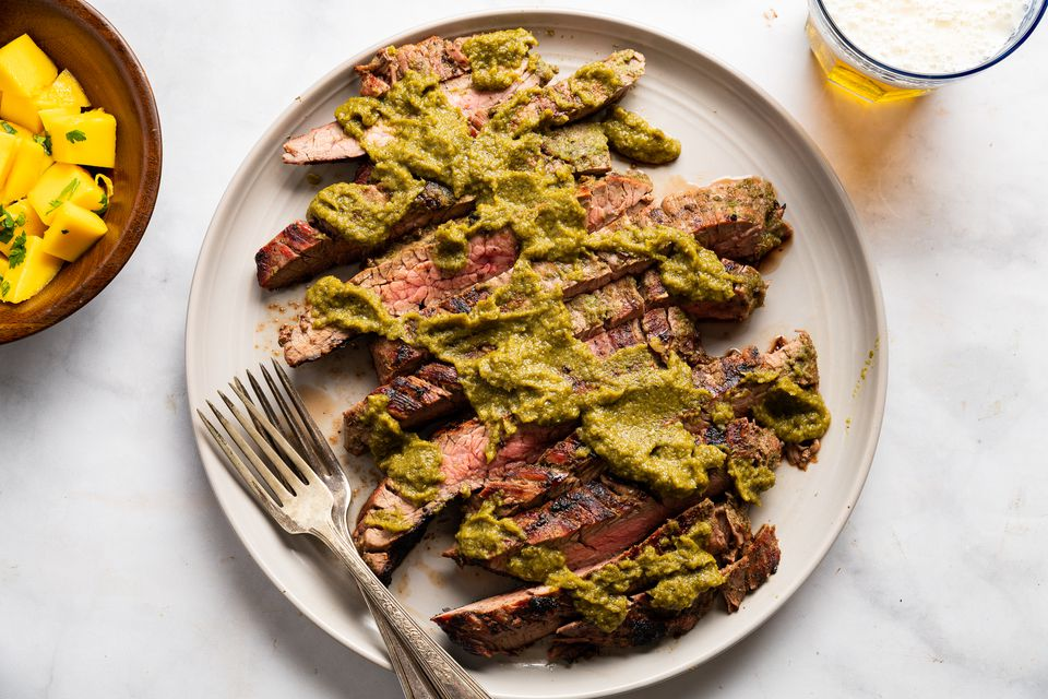 Jamaican Jerk Flank Steak