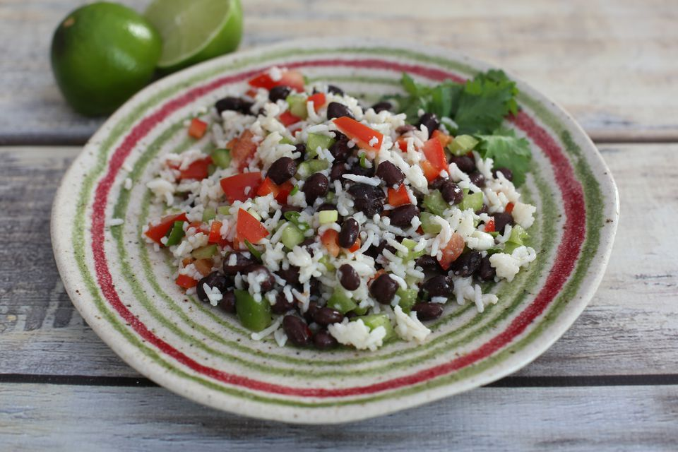 Rice and Black Bean Salad