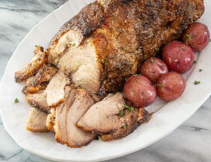 easy tender pork roast with pork shoulder or pork butt