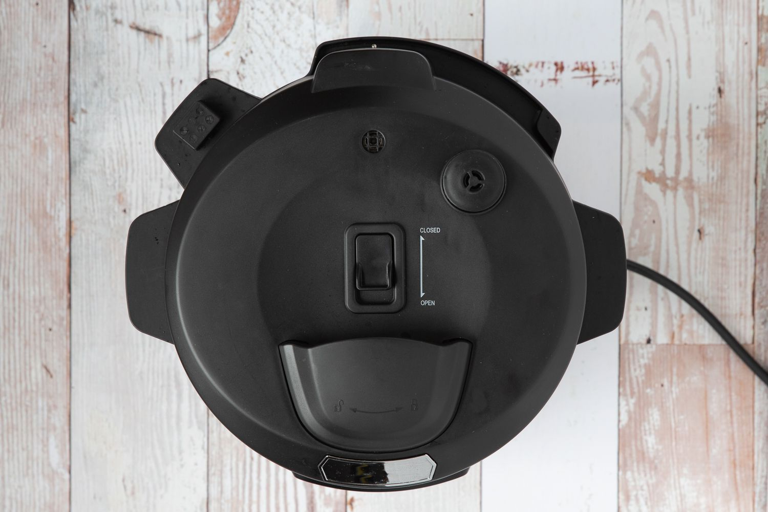 Lock the Instant Pot lid in place