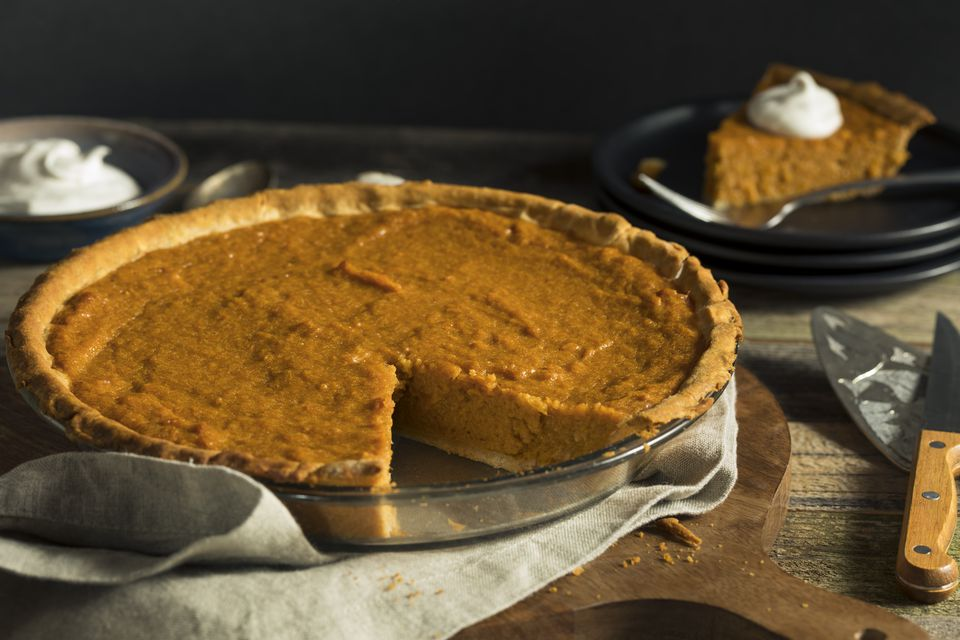 Homemade Festive Sweet Potato Pie