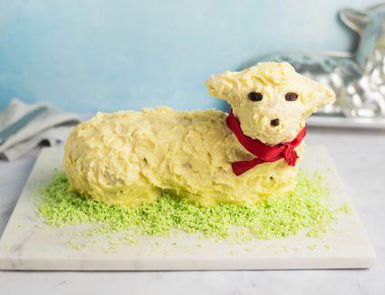 Easter lamb cake recipe
