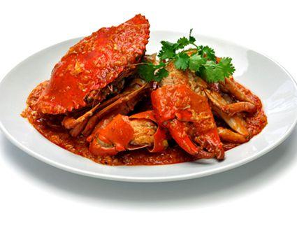 Thai chili crab