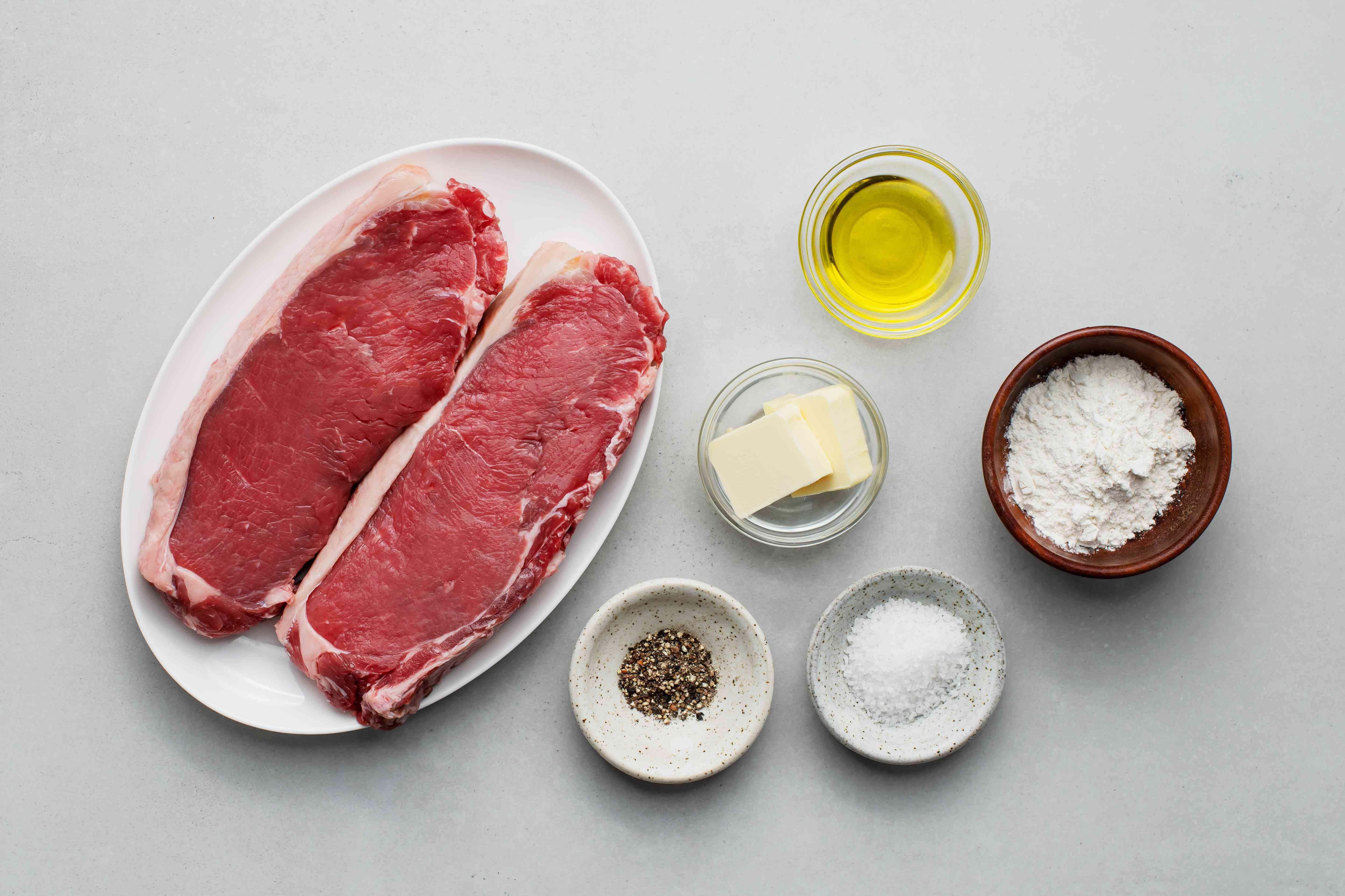 Mushroom Steak Marsala, steak ingredients