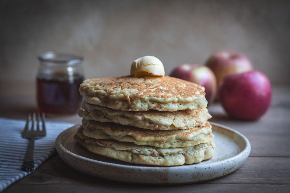 Easy homemade apple pancakes recipe