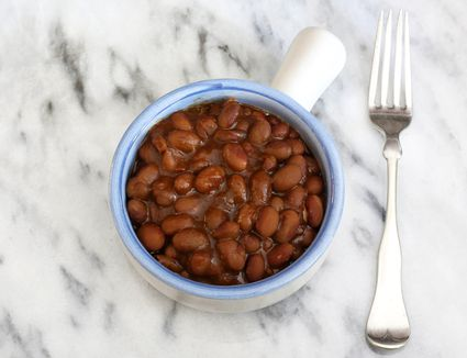 home baked yellow eye beans