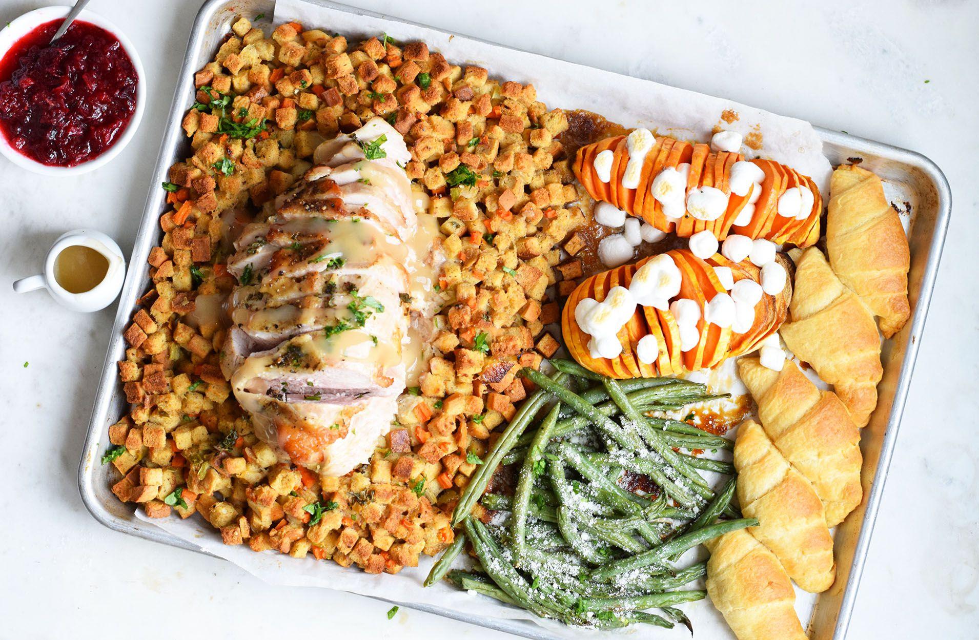 Sheet Pan Thanksgiving Dinner