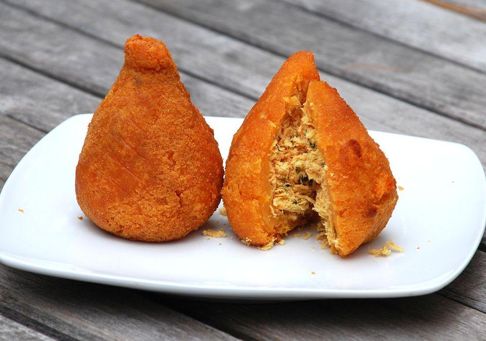 Coxinha - Brazilian Chicken Croquettes