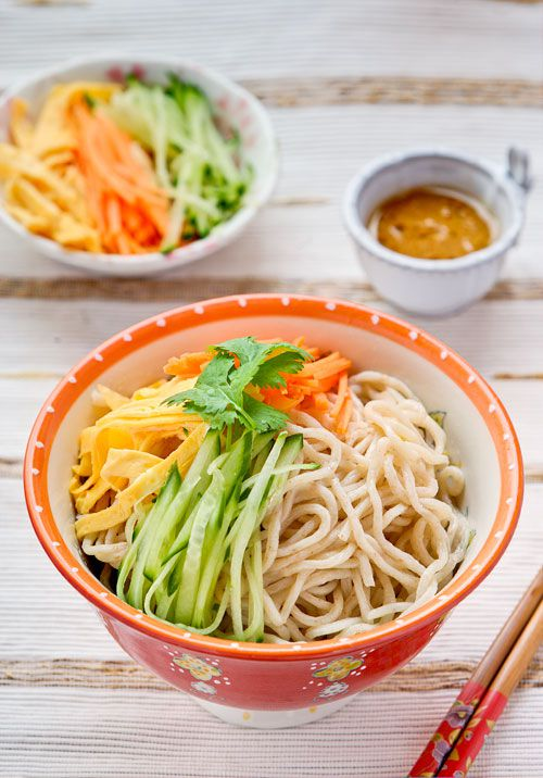 Chinese noodle salad recipe