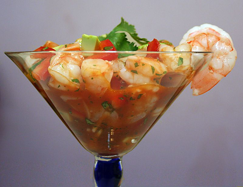 Mexican Shrimp Ceviche-Style Cocktail Recipe