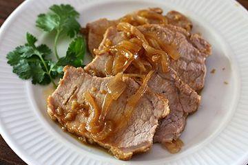 Orange Braised Pork Loin