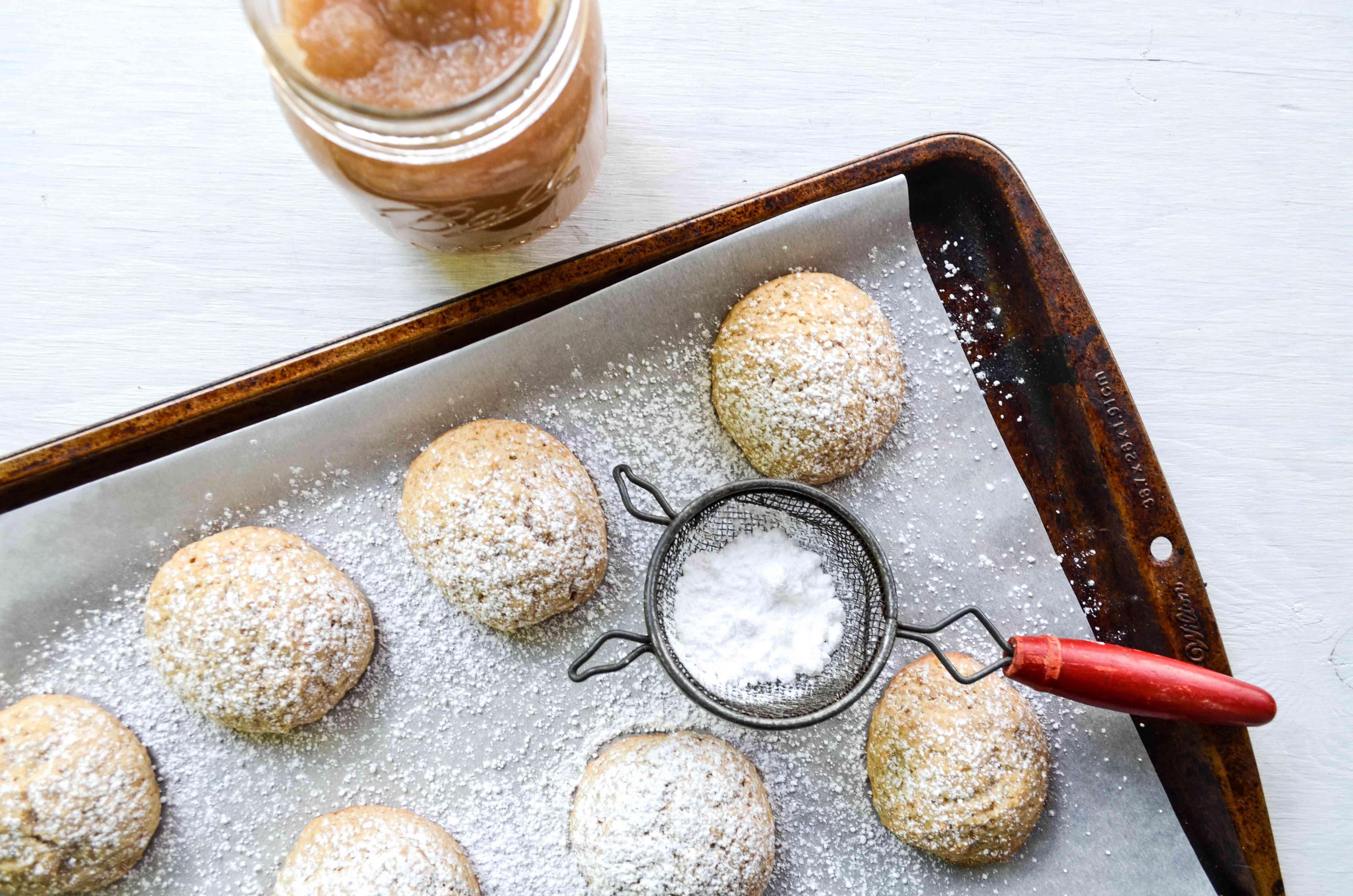 Apple Sauce Cookies