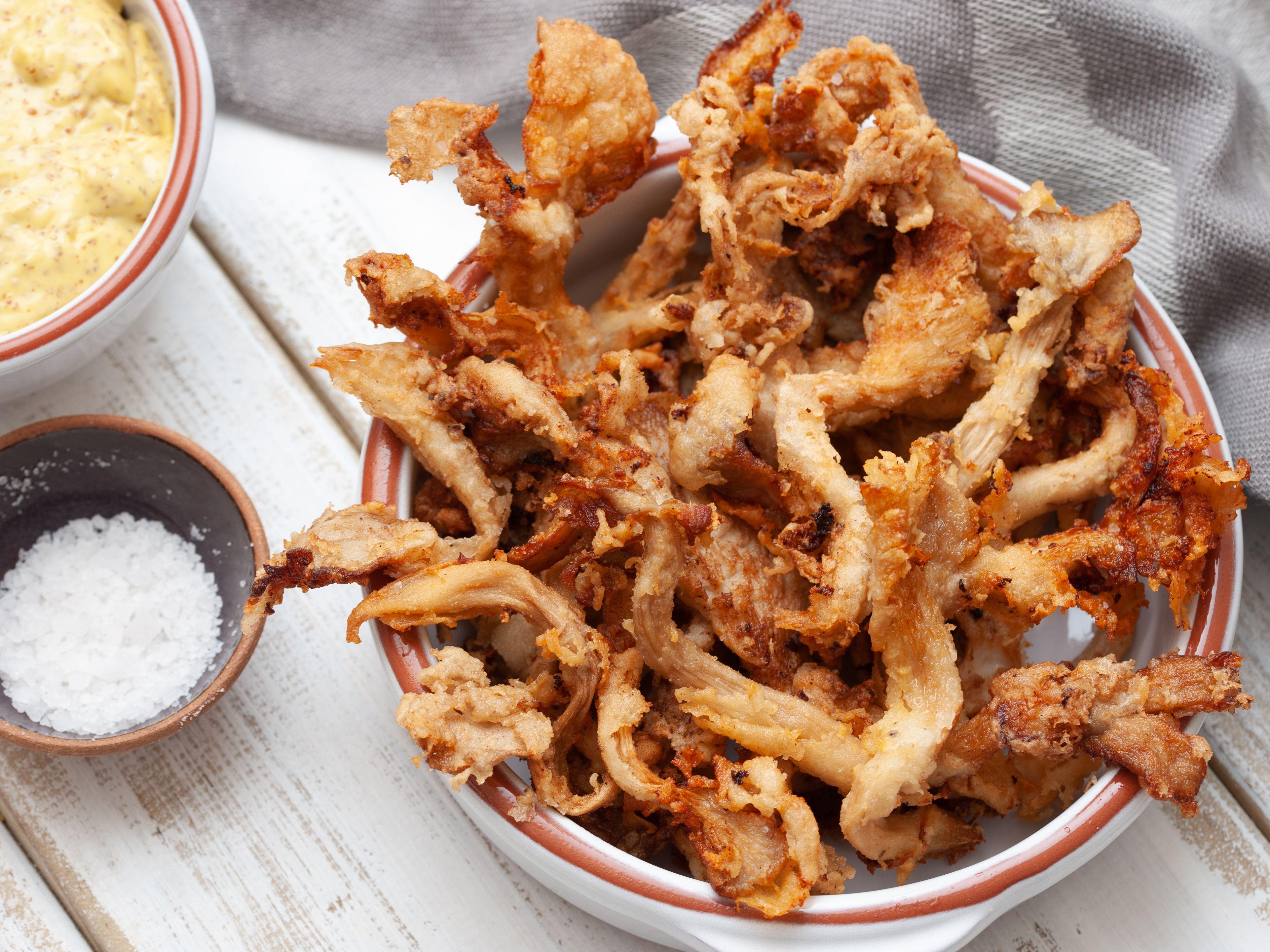 Buttermilk Fried Mushrooms Recipe
