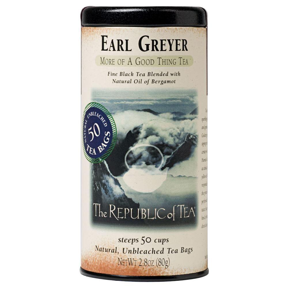 The Republic of Tea Earl Greyer Black Tea Bags