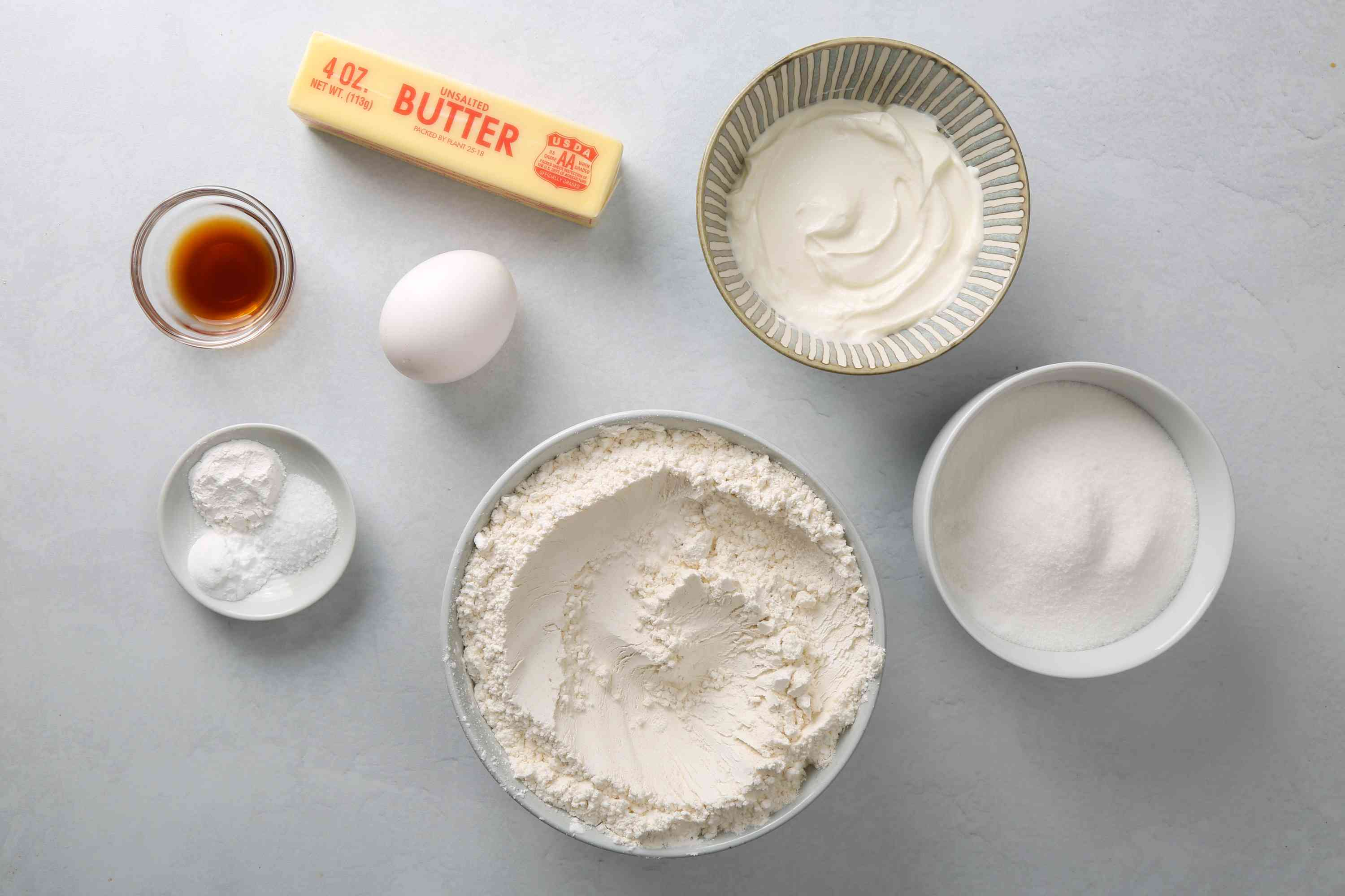 Ingredients for Lofthouse cookies