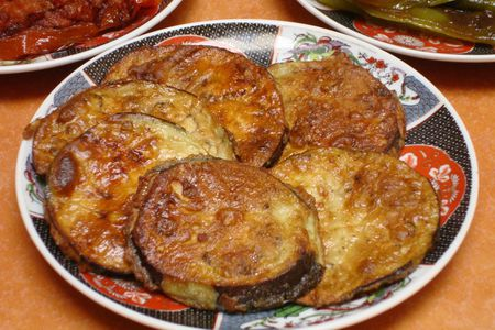 Moroccan Fried Eggplant