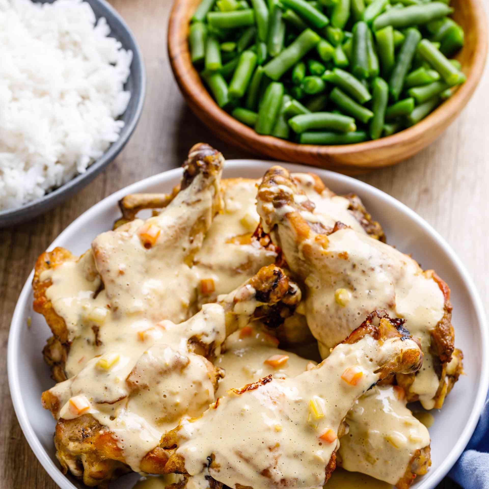 Crock pot turkey wings