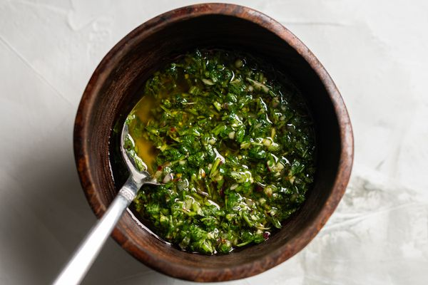 Argentinian-Style Chimichurri Sauce