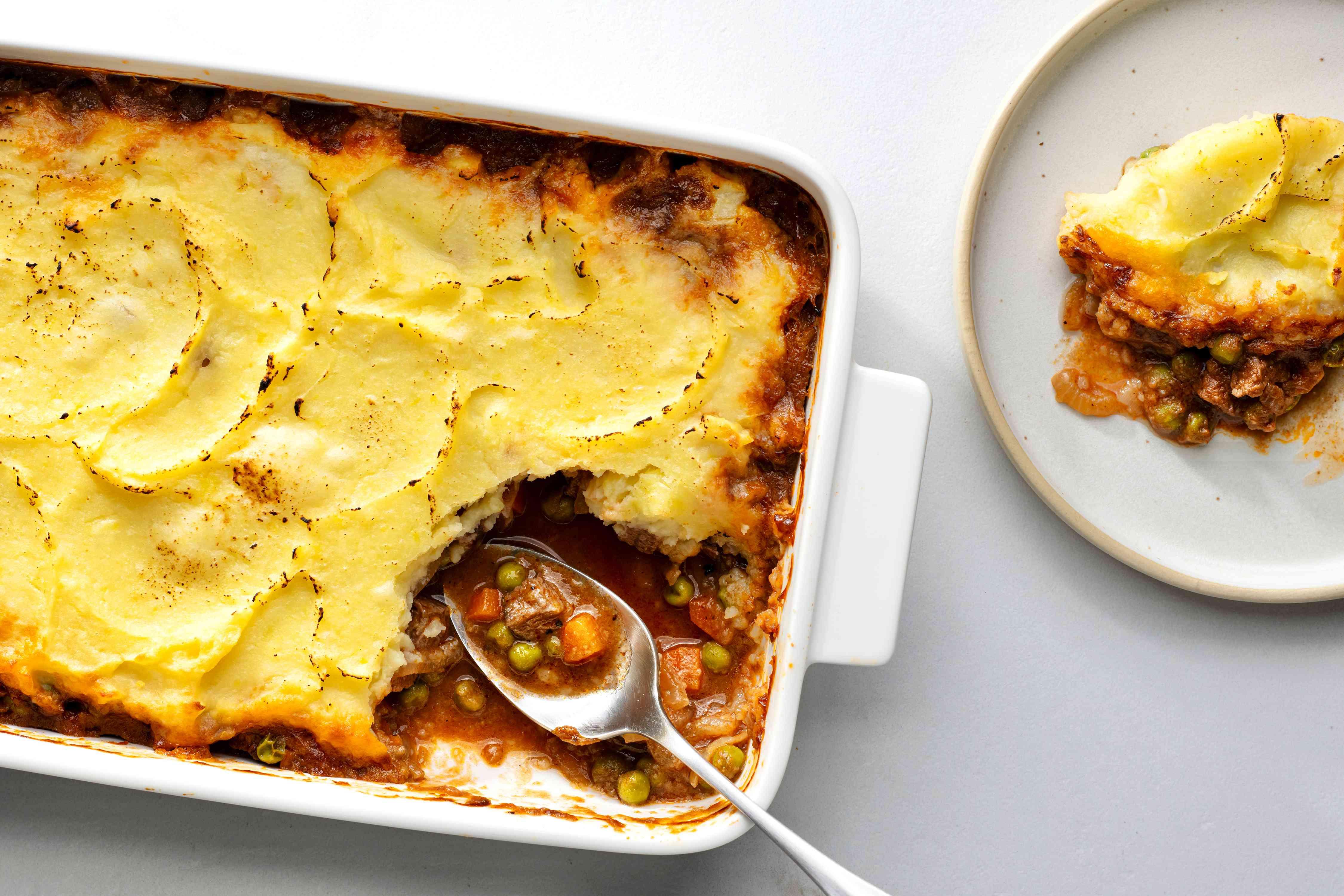 Shepherd's Pie Recipe With Beef or Lamb