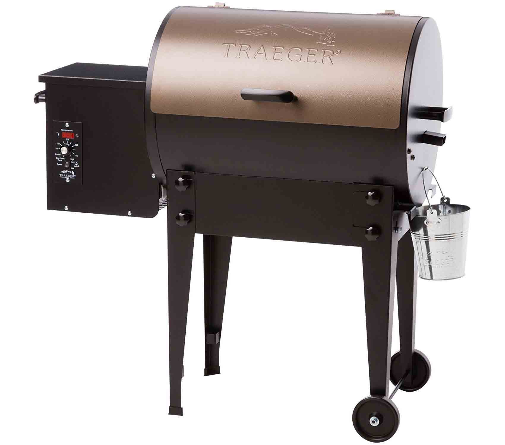 Pellet Grills A Real Wood Burning Smoker And Grill