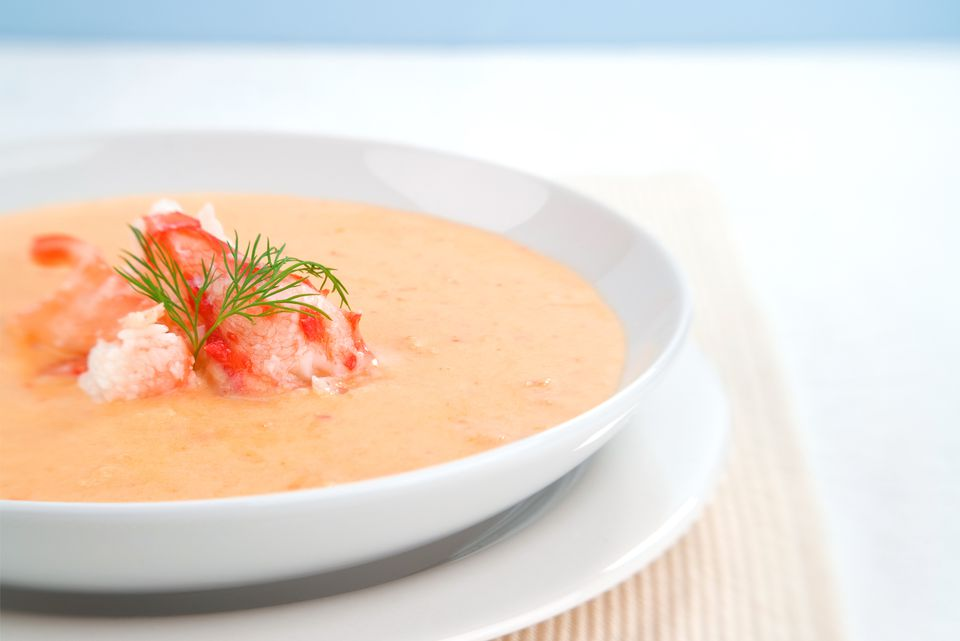 Classic lobster bisque recipe