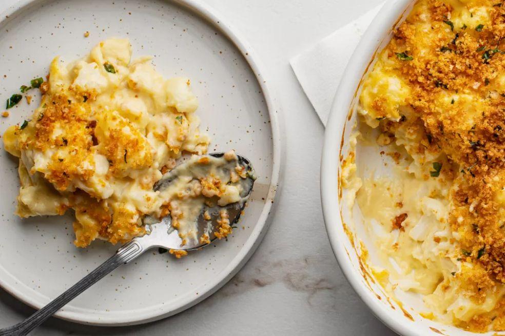 Cauliflower and Cheese Casserole