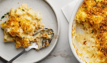 Cauliflower and Cheese Casserole