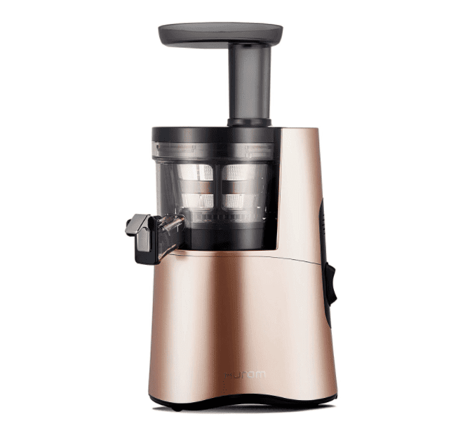 Hurom H-AA Slow Juicer, Rose Gold. Courtesy of Amazon.com.