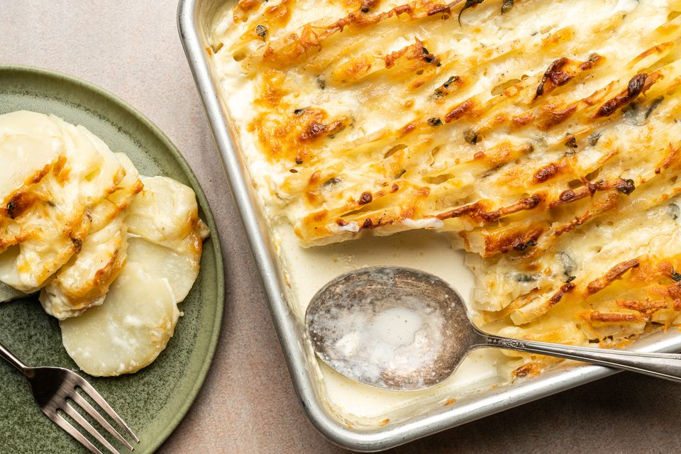 Potato Gratin (German Kartoffelgratin)