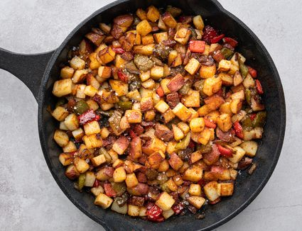 Home Fries Made With Red Potatoes
