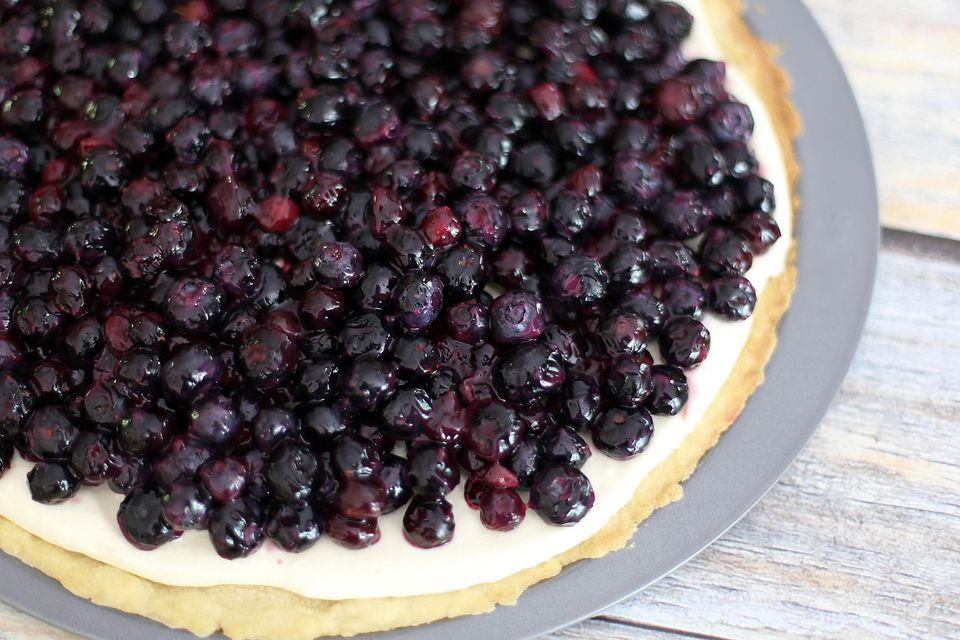 Blueberry Pizza