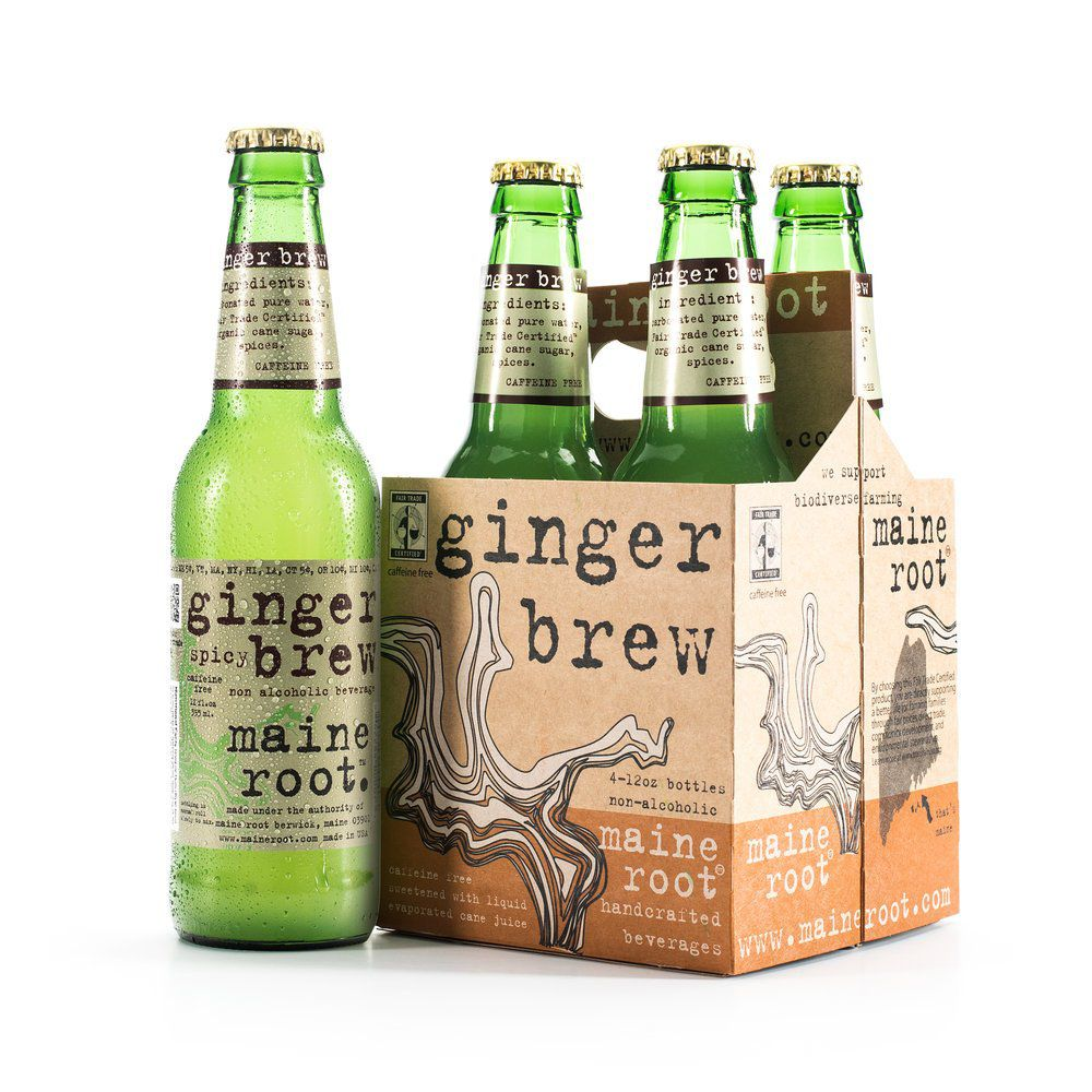 Maine Root Ginger Brew