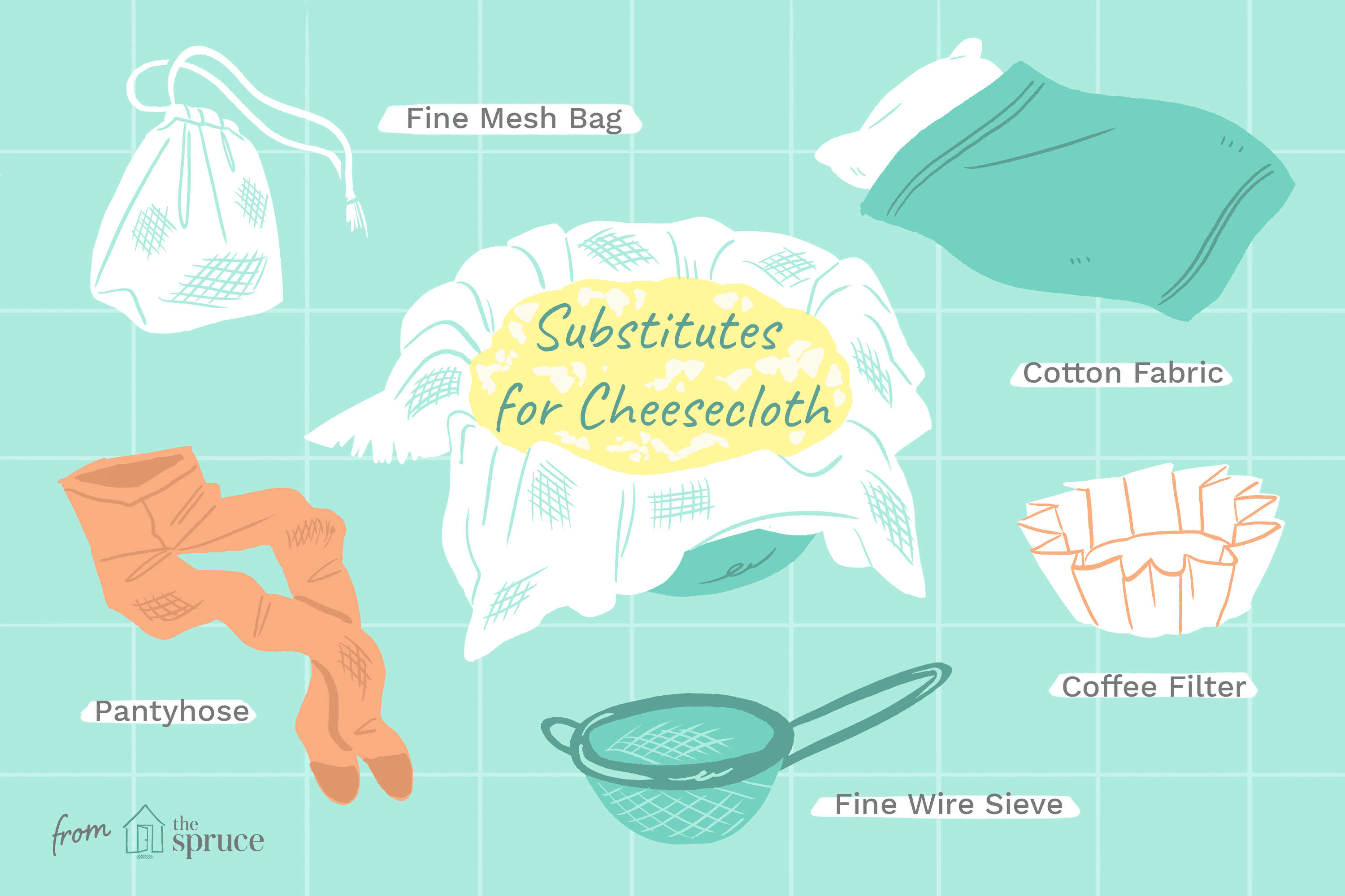 What To Use If You Don T Have Cheesecloth