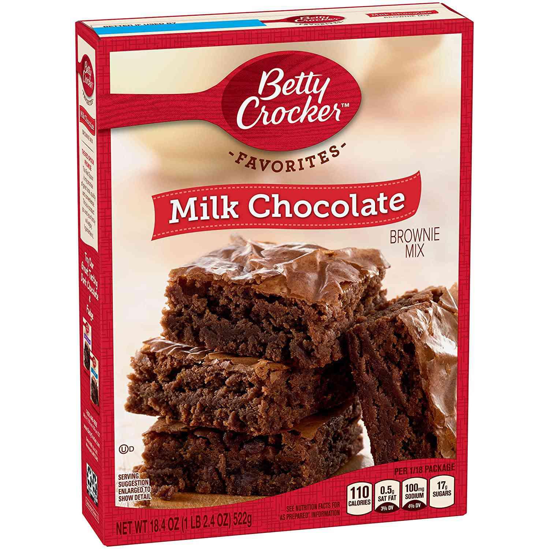 Betty Crocker Milk Chocolate Brownie Mix