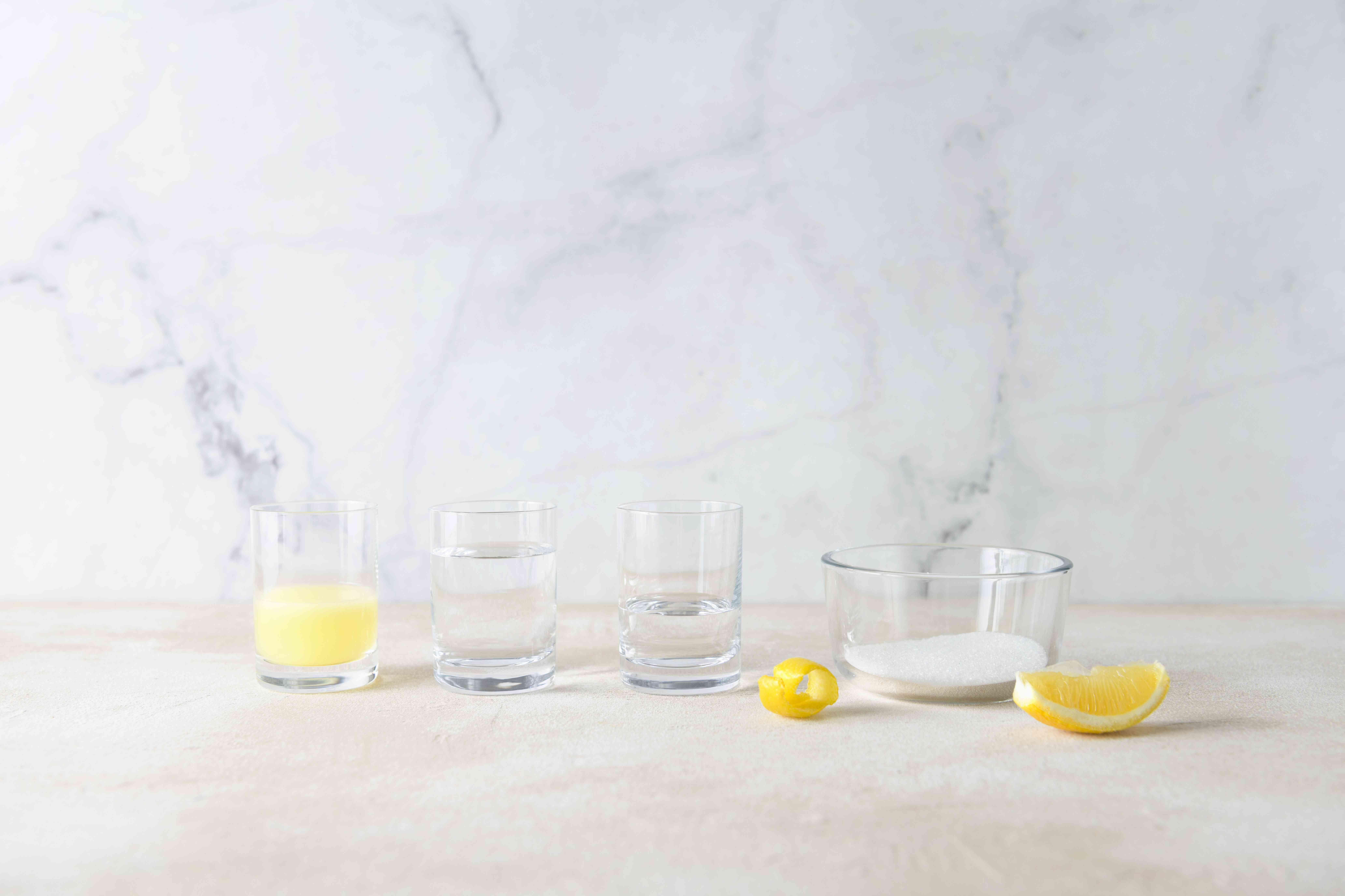 Lemon Drop Martini ingredients