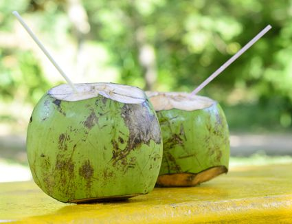 what is coconut water