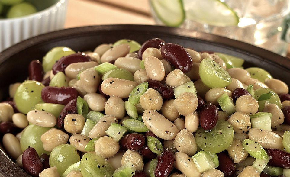 Grape salad recipe with three beans