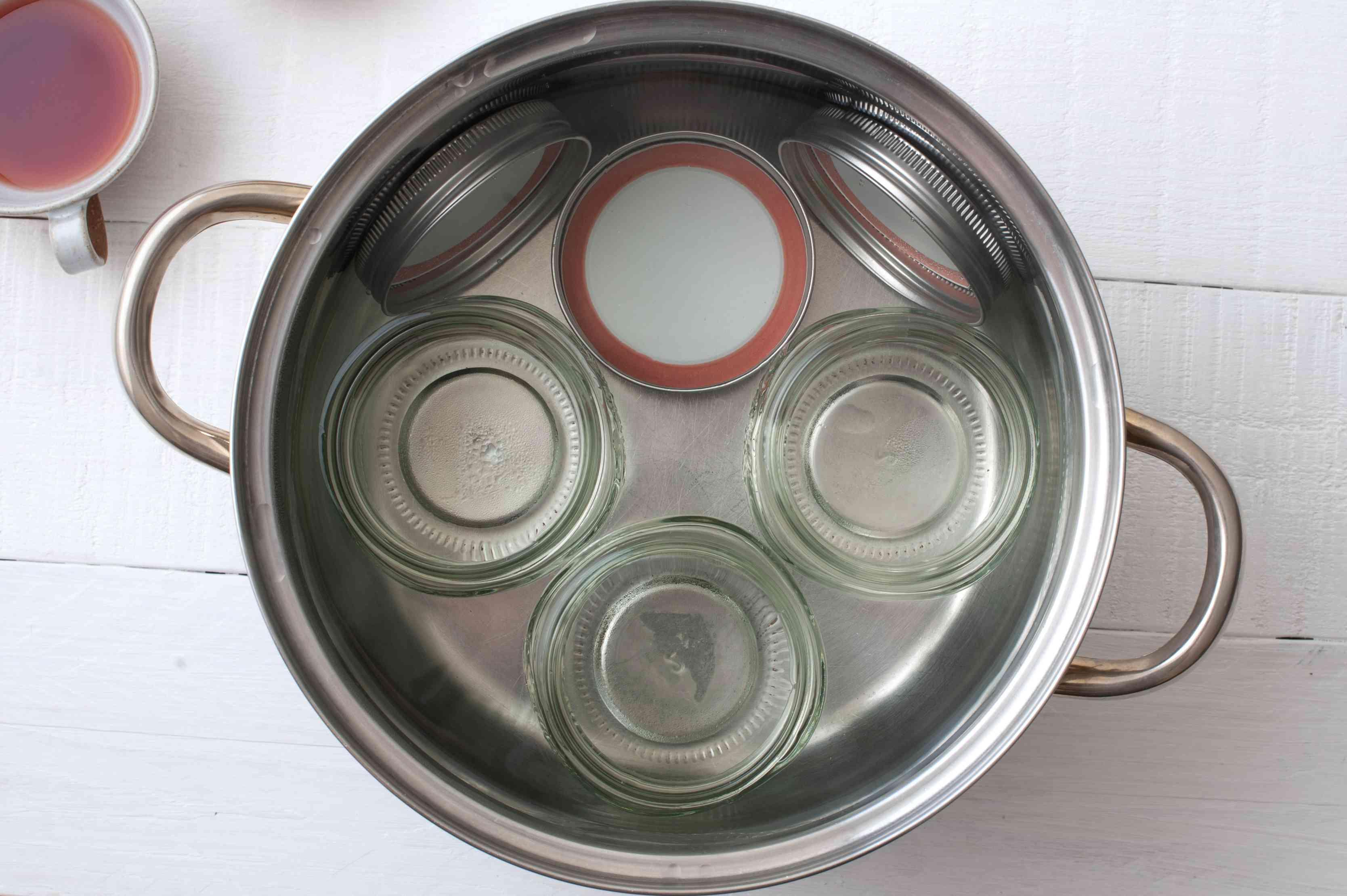 Sterilize jars