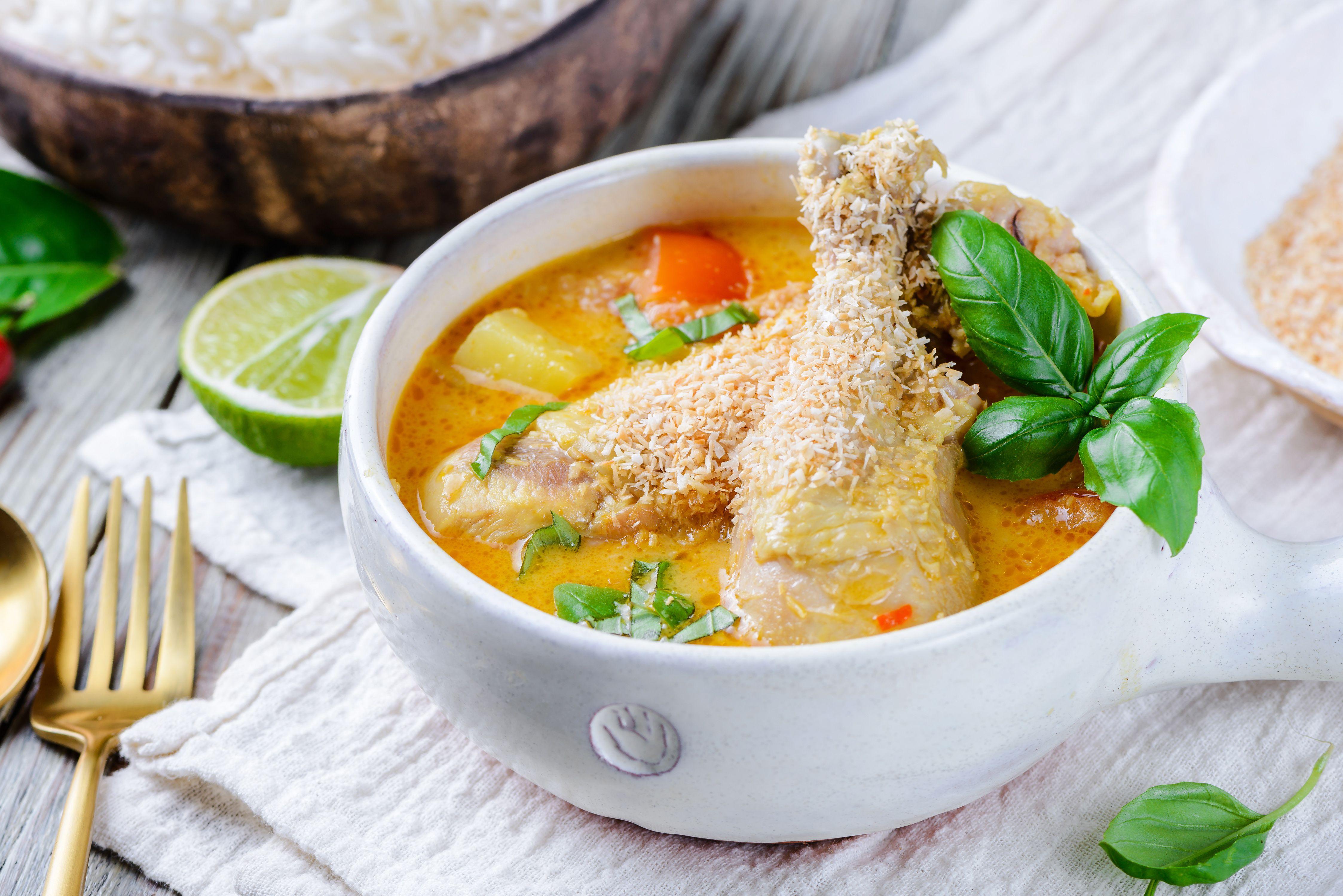 The Best Thai Coconut Curry Chicken Recipe