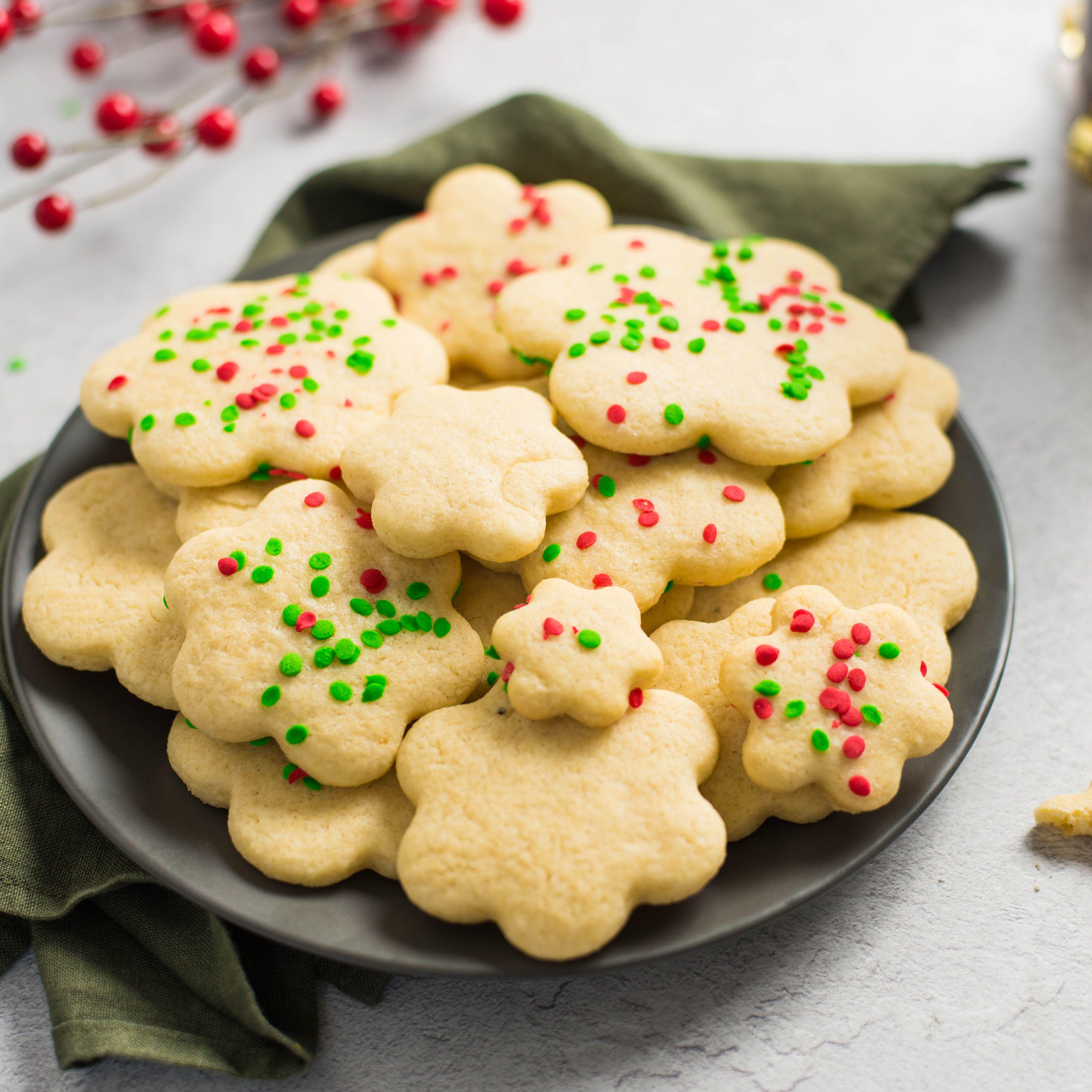 Low Fat Christmas Sugar Cookies Recipe