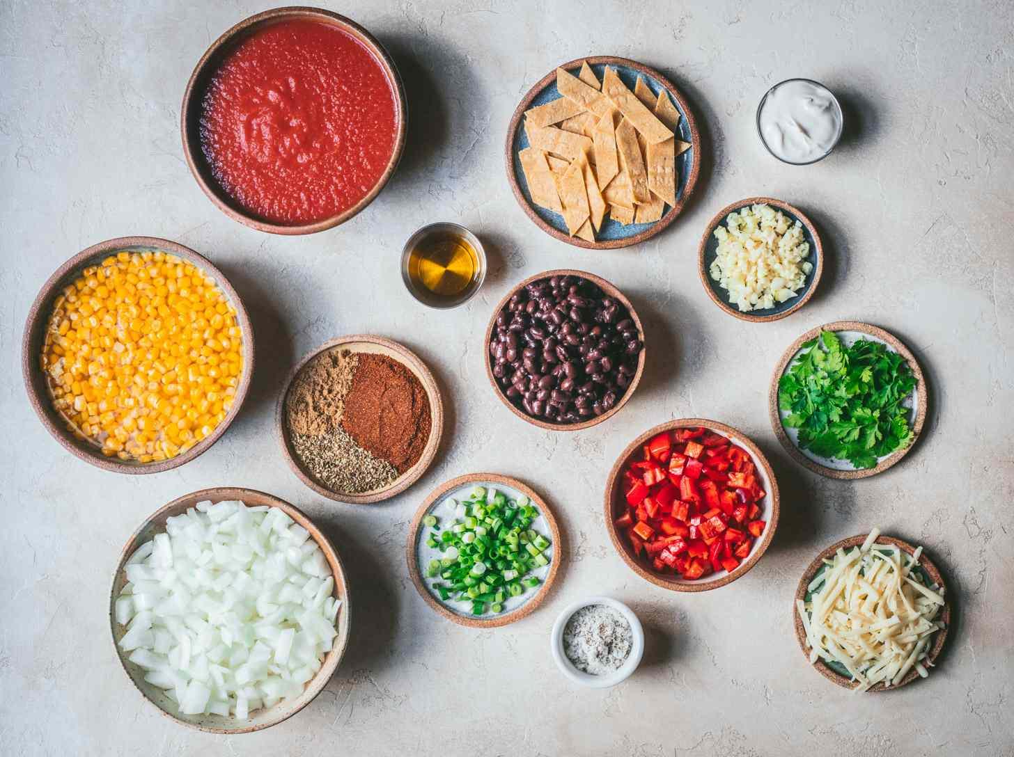 Vegetarian Black Bean And Corn Chili Recipe