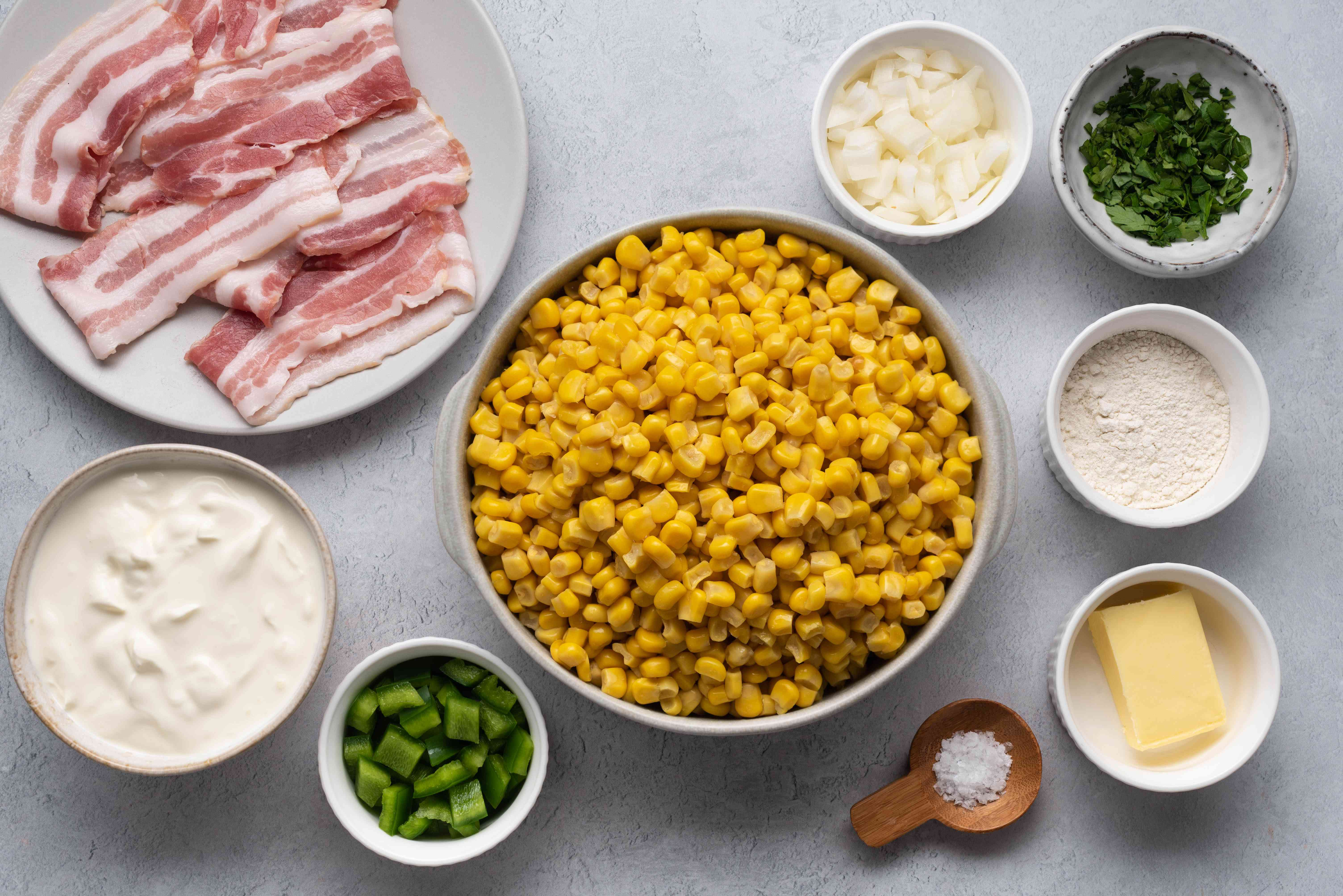 Skillet Corn With Bacon and Sour Cream ingredients